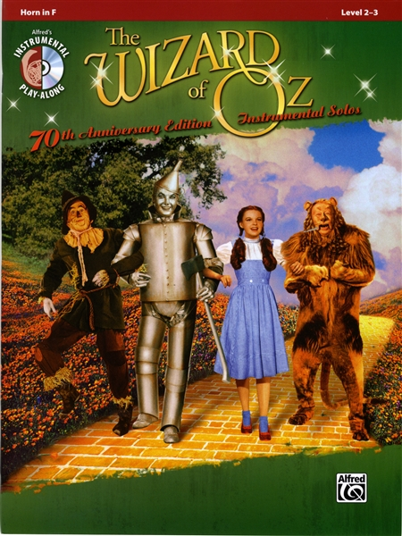 Sentinel The Wizard Of Oz F French Horn Sheet Music Book CD
