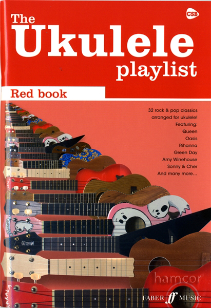 The Ukulele Playlist Red Book 32 Rock & Pop Classics Uke Chord ...