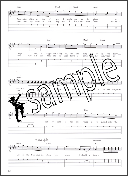 Taylor Swift Speak Now Easy Guitar Tab Book 14 Songs Tablature