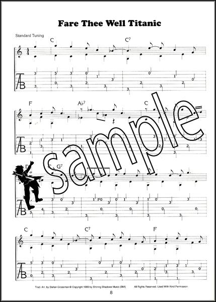 Fingerpicking Country Blues Guitar Stefan Grossman Book/3CDs   Hamcor