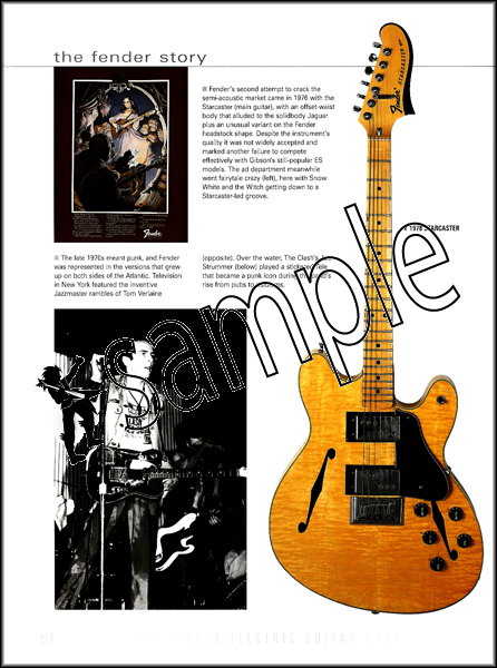 the fender electric guitar book by tony bacon a complete history 3rd edition ebay. Black Bedroom Furniture Sets. Home Design Ideas