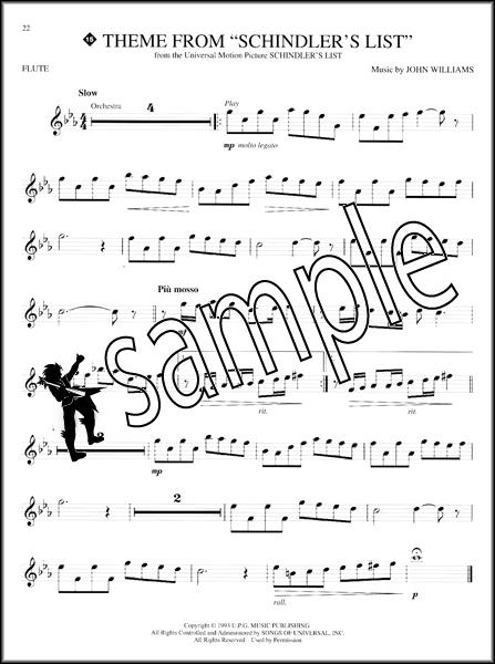 great themes flute instrumental playalong sheet music book
