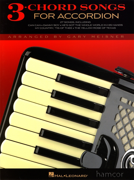 3-Chord Songs for Accordion | Hamcor