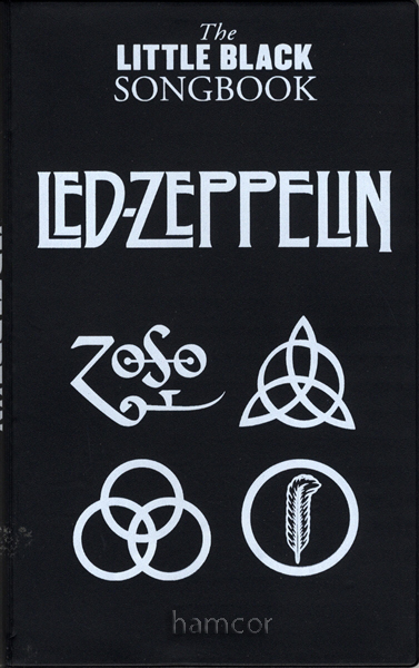 Led Zeppelin The Little Black Songbook Guitar Chords Lyrics Music