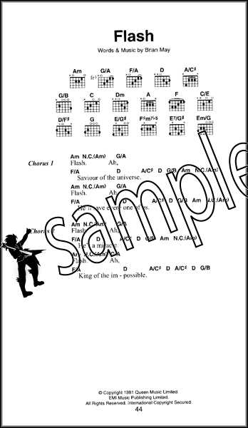 Queen The Little Black Songbook Guitar Chords & Lyrics Music Song ...
