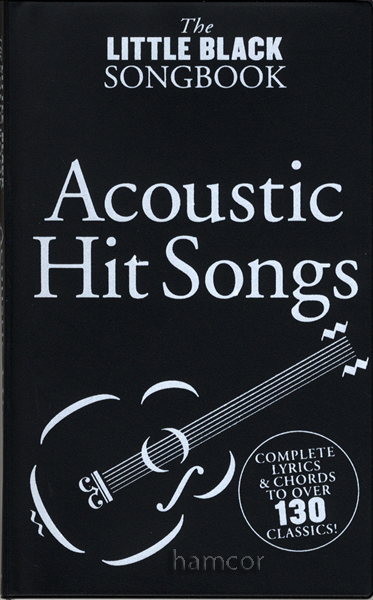 Acoustic Hit Songs The Little Black Songbook Guitar Chords Lyrics