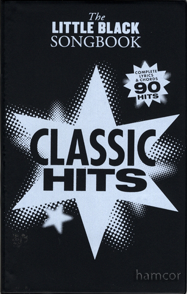 Classic Hits The Little Black Songbook Guitar Chords & Lyrics Music ...