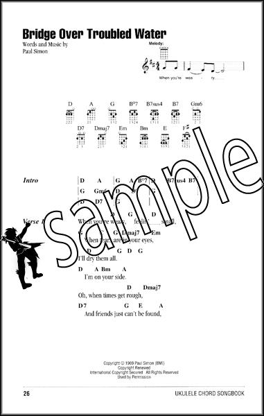 Acoustic Rock Ukulele Chord Songbook Hamcor