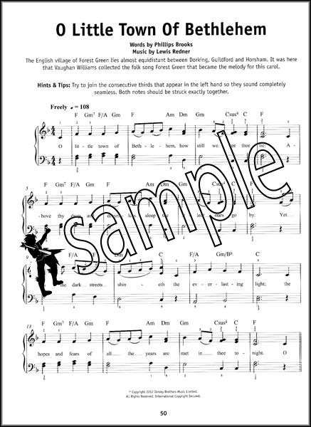 Piano piano tabs christmas songs : Really Easy Piano Bumper Christmas Book Sheet Music Book Carols ...