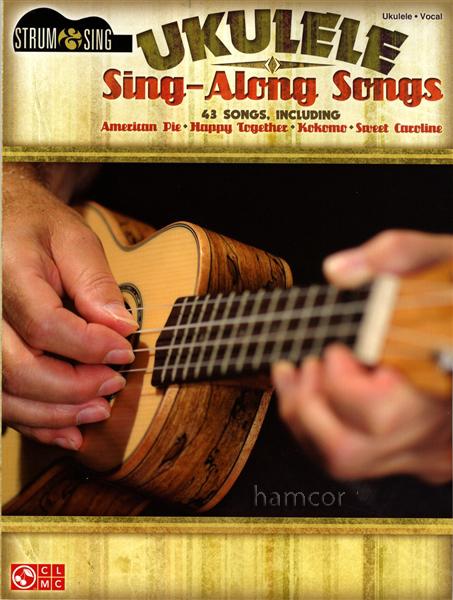 Ukulele Sing Along Songs Chord Songbook American Pie Sweet Caroline ...