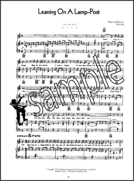 George Formby Songbook Hamcor