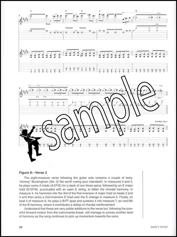 Fleetwood Mac Guitar Signature Licks Bookcd Hamcor