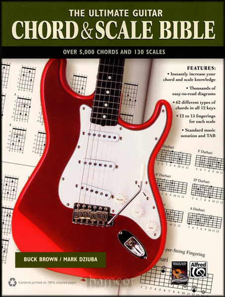 The Ultimate Guitar Chord & Scale Bible 5,000 Chords 130 Scales ...