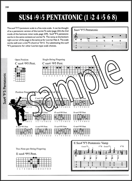 The Ultimate Guitar Chord & Scale Bible | Hamcor