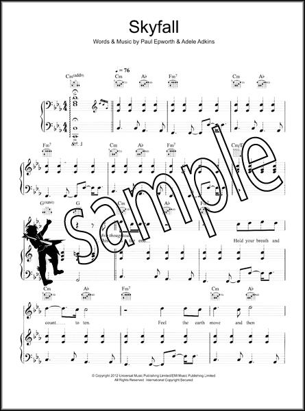 Adele Skyfall Sheet Music Cd Edition Hamcor