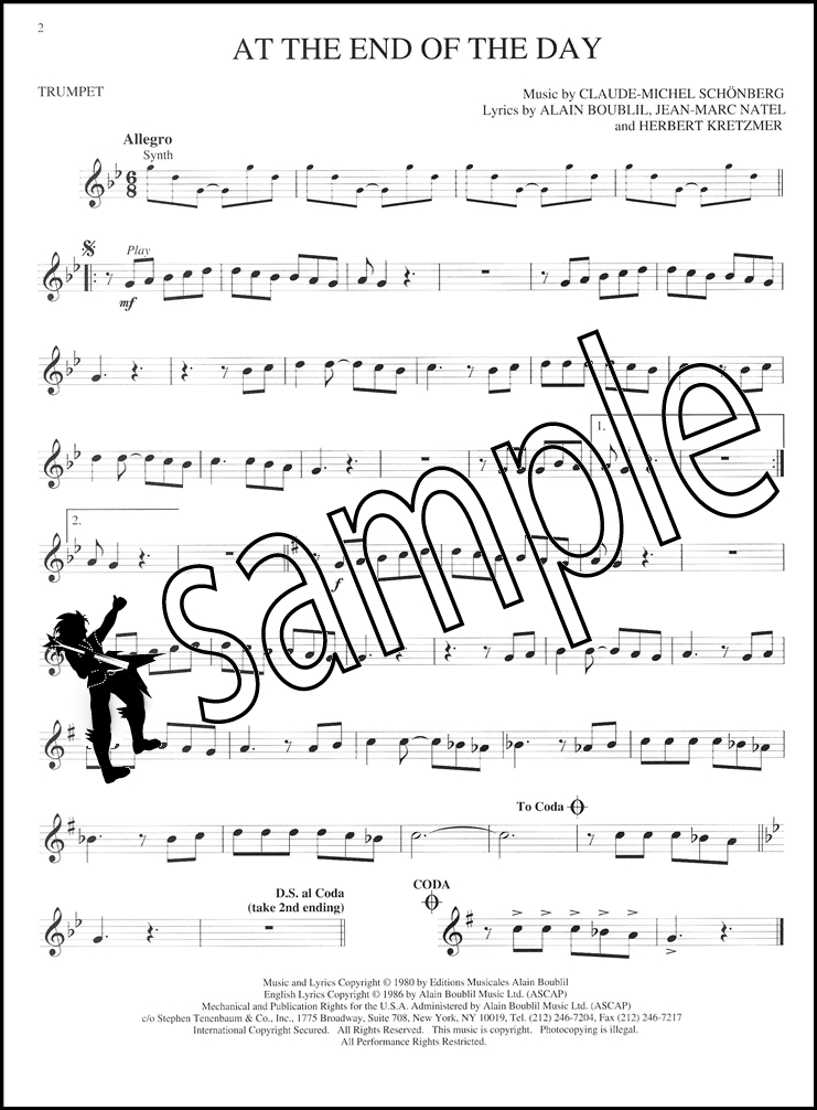 how to play sing sing sing on trumpet