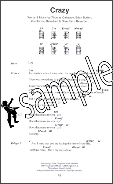 The Little Black Book Of Hit Songs For Ukulele Chord Songbook 79 Pop