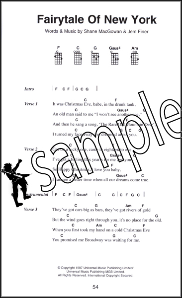 The Little Black Book Of Classic Songs For Ukulele Chord Songbook 80