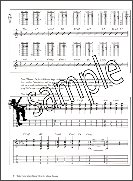 Jody Fisher\'s Jazz Guitar Chord-Melody Course TAB Book/MP3 CD ...