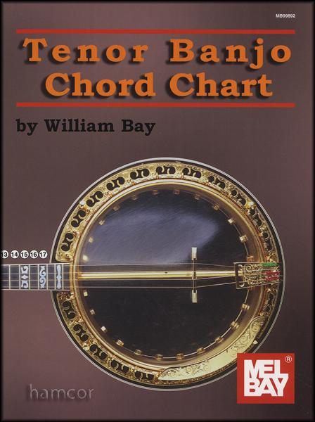 Tenor Banjo Chord Chart 4 String Banjo 796279038768 Ebay