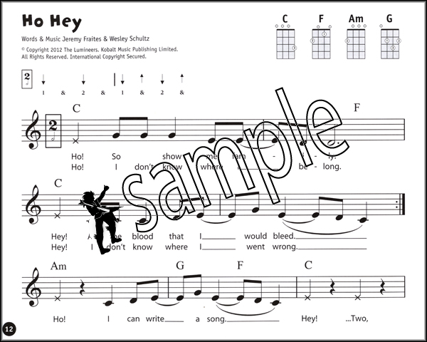 Ukulele From The Beginning Pop Songs The Red Book Chord Melody