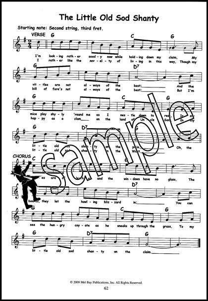 101 3 Three Chord Childrens Songs Guitar Banjo Ukulele Chord Melody