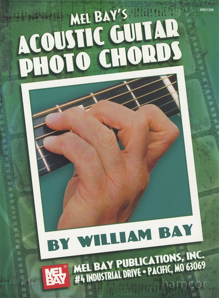 Mel Bays Acoustic Guitar Photo Chords Reference Book 796279100069