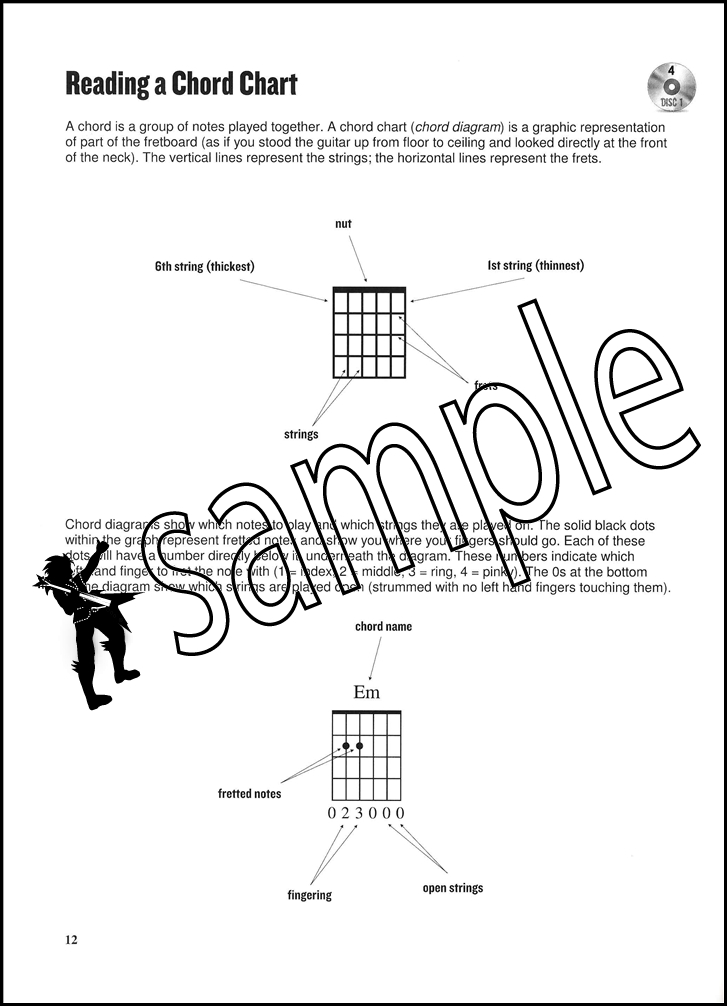 Acoustic Guitar Course Expanded Edition Book/Video | Hamcor