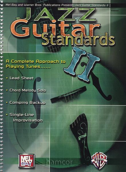Jazz Guitar Standards 2 TAB Music Book Lead Sheet Chord Melody ...