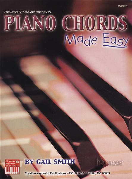 Piano Chords Made Easy Chord Book 796279076470 Ebay