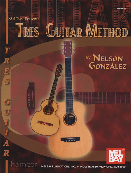 Tres Guitar Method Beginners Learn How to Play Music Book Nelson ...