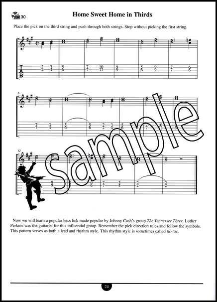 School of Country Guitar Chords, Accompaniment Styles | Hamcor