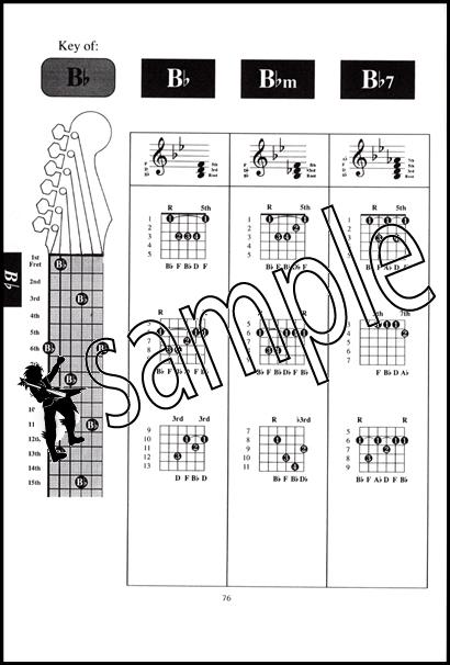 Instant Guitar Chord Finder Case Size Chord Book 796279014526 | eBay