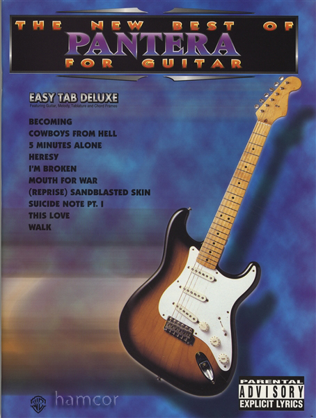 The New Best of Pantera for Guitar | Hamcor