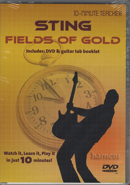 Sting Fields of Gold 10-Minute Teacher Guitar DVD Learn to Play the ...