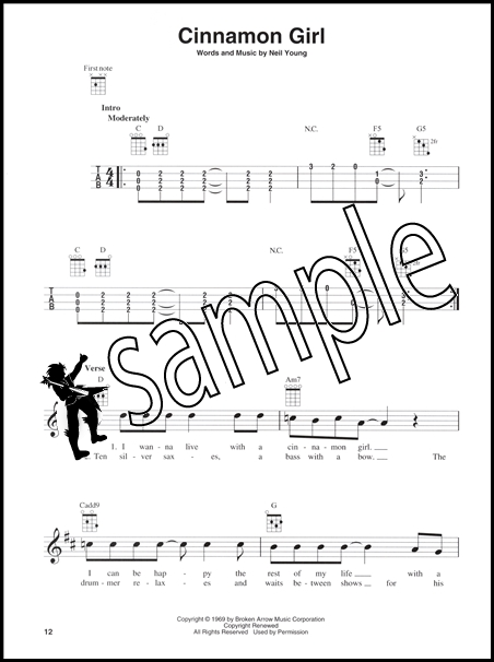 Neil Young Greatest Hits Ukulele Chord Melody Songbook With Some