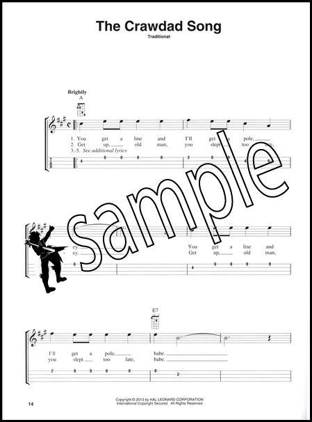 Folk Songs For Mandolin Sing Strum And Pick Along Tab Chord Music
