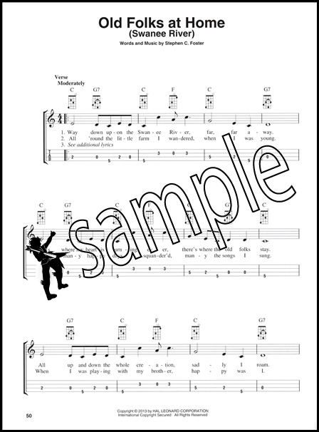 Folk Songs for Mandolin Sing, Strum and Pick Along TAB & Chord Music ...