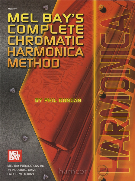 Mel Bay's Complete Chromatic Harmonica Method Book Only ...
