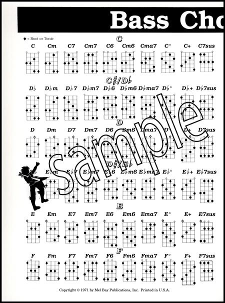Bass Guitar Chord Chart | Hamcor