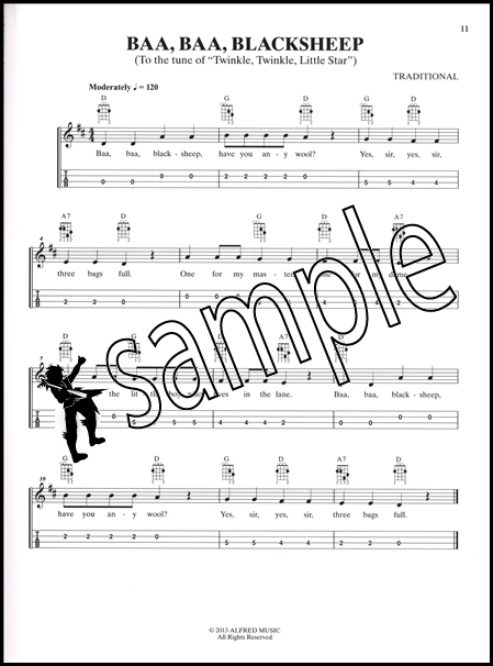 Just For Fun Childrens Songs For Mandolin Easy Tab Chord Songbook