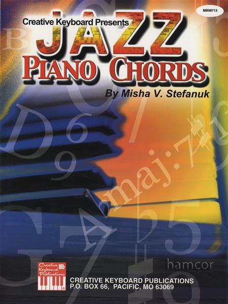 Creative Keyboard Presents Jazz Piano Chords Chord Book 796279067911