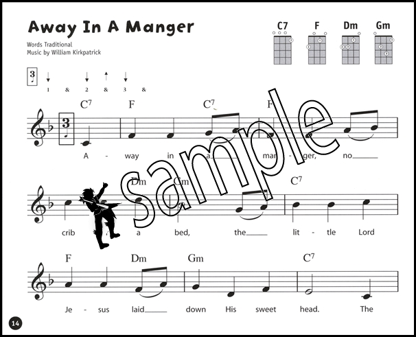 Ukulele From The Beginning Christmas Songbook Chord Melody Music