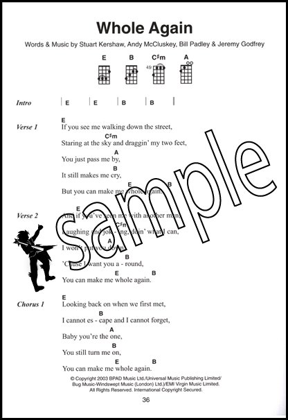 The 4 Chord Songbook Of Great Ukulele Songs Hamcor