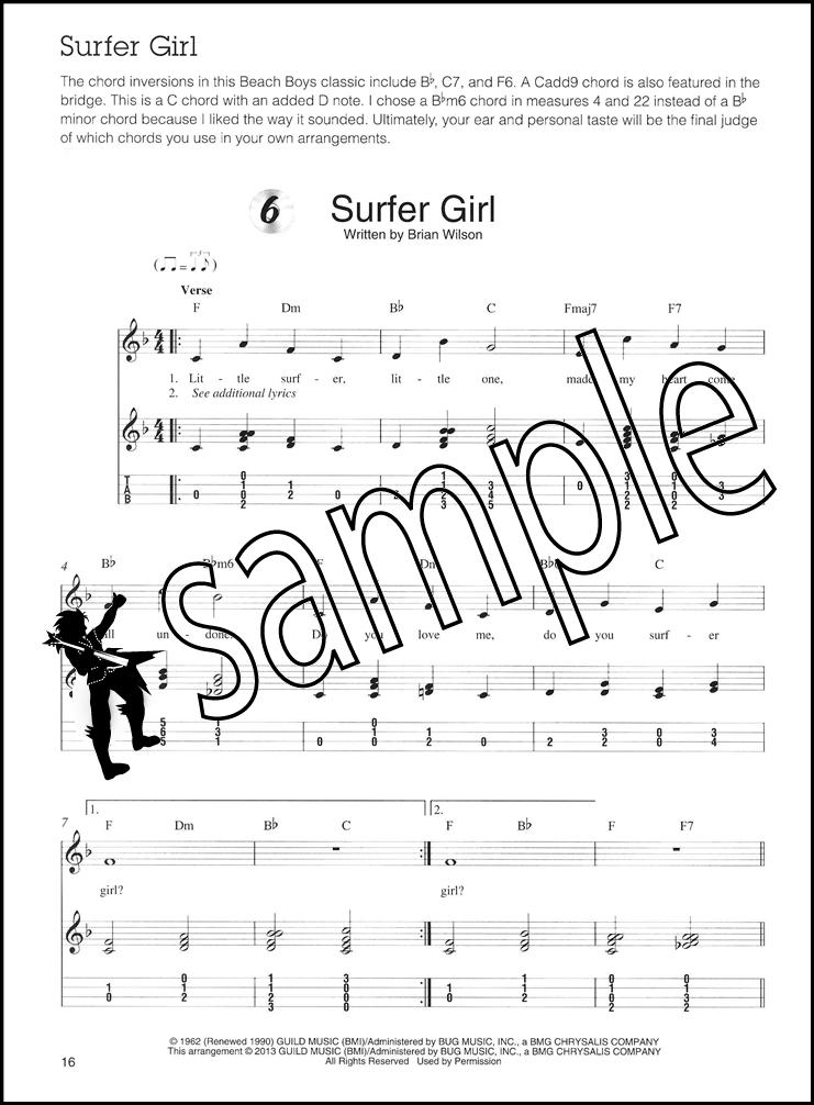 Ukulele Chord Melody Solos Bookaudio Hamcor