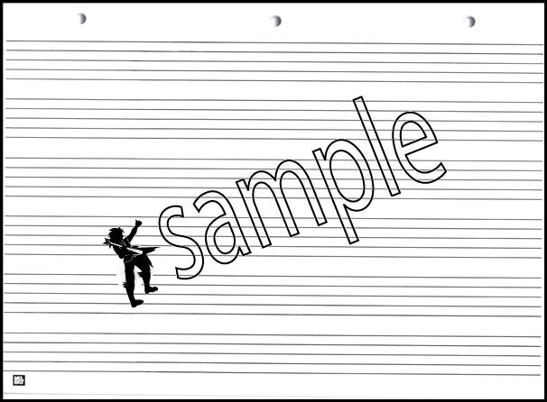 mel bay s manuscript pad for children music staff stave paper