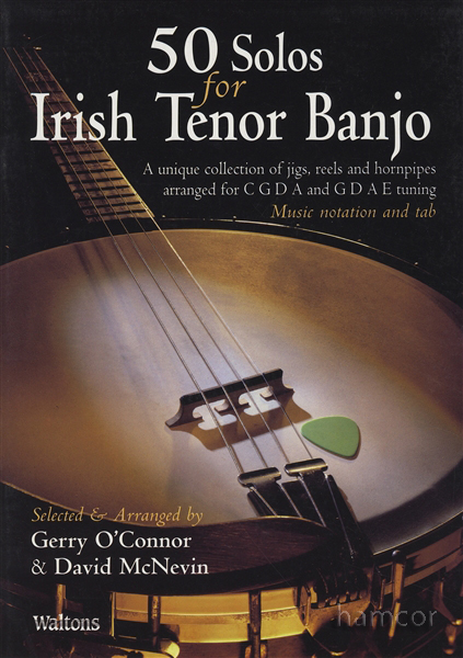 50 Solos for Irish Tenor Banjo Book Only