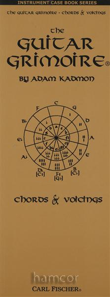 The Guitar Grimoire Chords & Voicings Case Size Adam Kadmon ...
