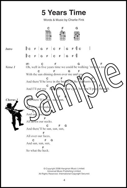 Enchanting Five Years Time Ukulele Chords Composition Beginner