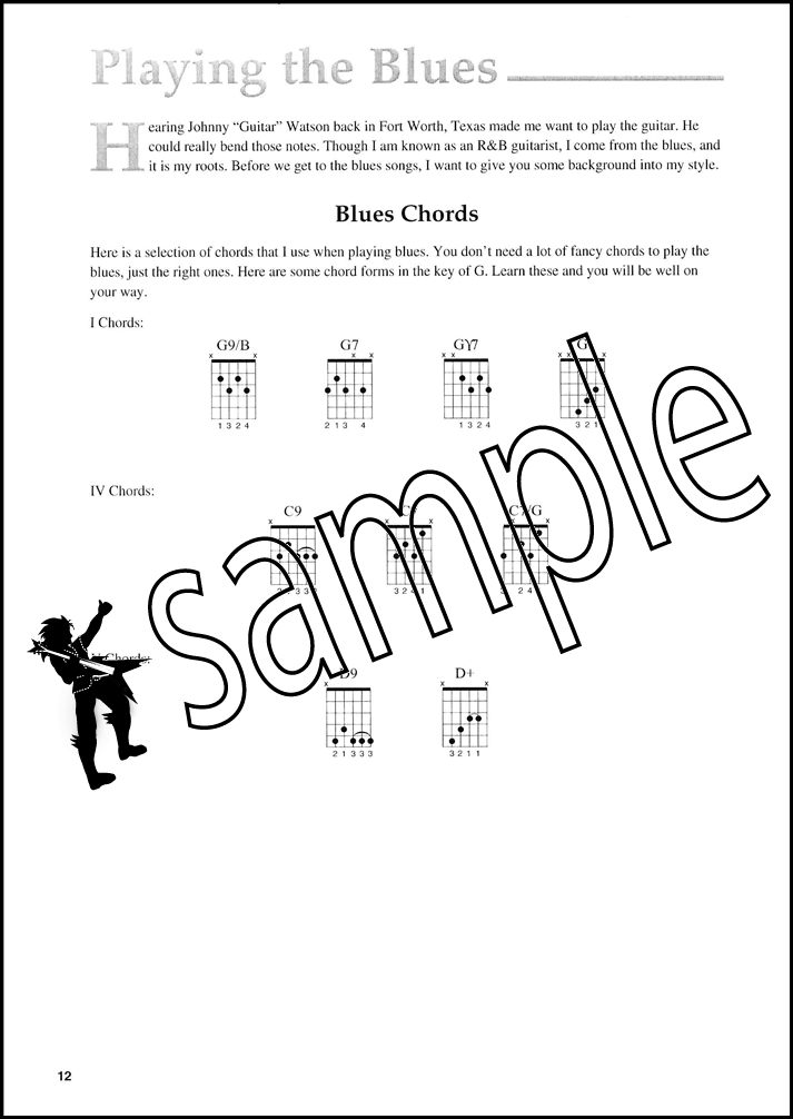 Rhythm & Blues Guitar Cornell Dupree TAB Book/Audio Chords Scales ...